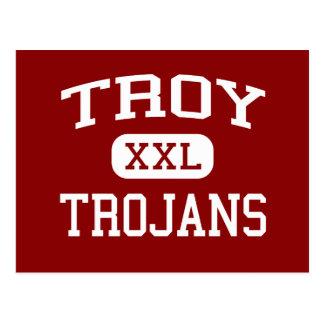 Troy - Trojan - High School secundaria de Troy - Tarjeta Postal