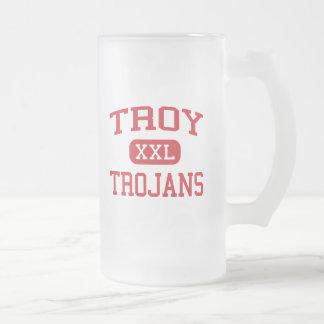 Troy - Trojan - High School secundaria - Troy Taza De Cristal