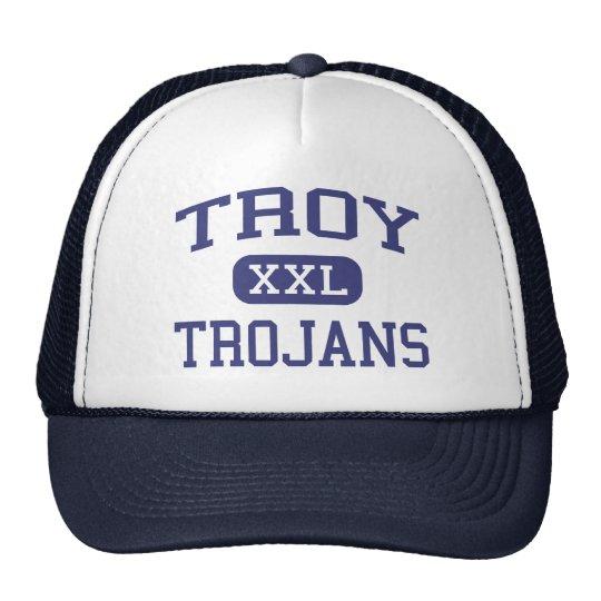 Troy - Trojans - Troy High School - Troy Kansas Trucker Hat