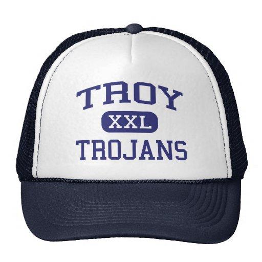 Troy Trojans Troy Middle School Troy Kansas Trucker Hat
