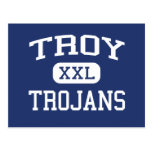 Troy Trojans Troy Middle School Troy Kansas Postcard