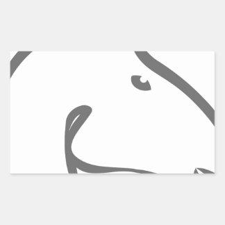 Troya..trump.jpg Rectangular Sticker