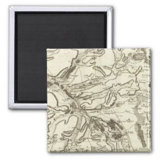 Troyes 2 Inch Square Magnet