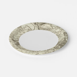Troyes 7 Inch Paper Plate