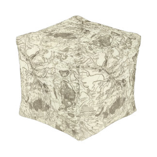 Troyes Cube Pouf