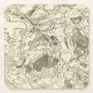 Troyes Square Paper Coaster