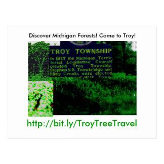 TroyTreeTravel Tarjetas Postales
