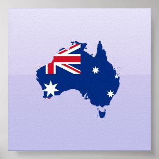 Trozo de Australia, Australia Póster