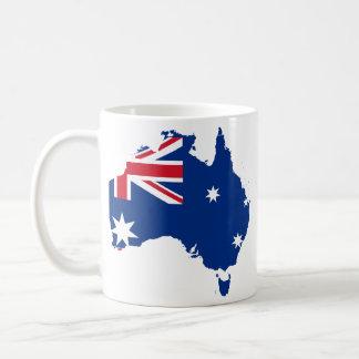 Trozo de Australia, Australia Taza Básica Blanca