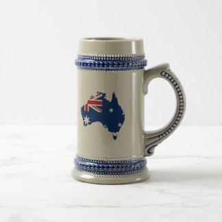 Trozo de Australia, Australia Jarra De Cerveza
