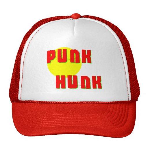 Trozo punky gorras de camionero