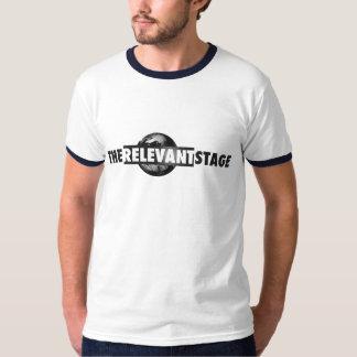 TRS Blue Ringer T Shirt