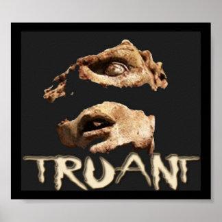 Truant Shattered Face Poster