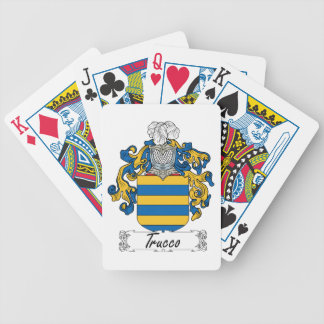 Trucco Family Crest Poker Deck