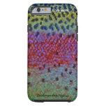 Trucha arco iris - caja del teléfono celular