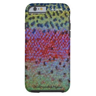 Trucha arco iris - caja del teléfono celular funda de iPhone 6 tough