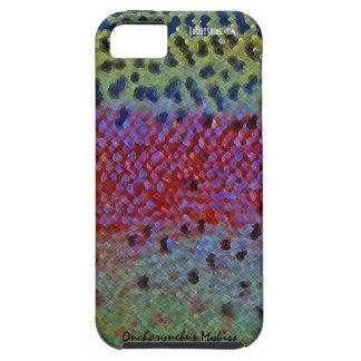 Trucha arco iris - caja del teléfono celular iPhone 5 Case-Mate protector