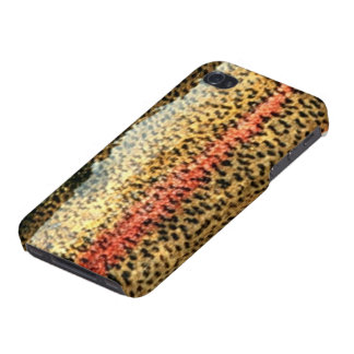 Trucha arco iris - cubierta lista del iPhone 4 iPhone 4 Carcasa