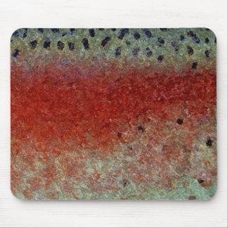 Trucha arco iris - Mousepad