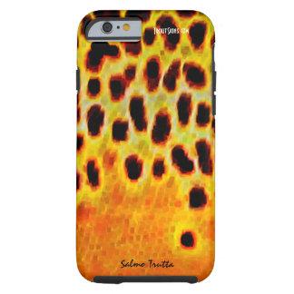 Trucha de Brown - caja del teléfono celular Funda Para iPhone 6 Tough