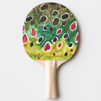 Trucha de Brown Pala De Tenis De Mesa