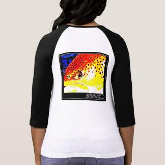 Trucha de Brown por Patternwear© Camiseta