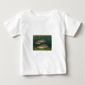 Trucha de lago lake Superior Camisas