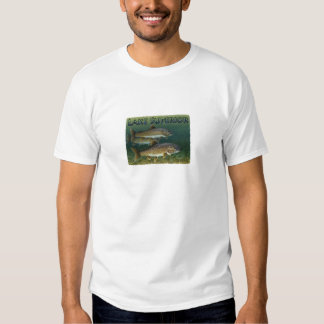 Trucha de lago lake Superior Playera