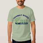 Trucha del río de Rahway ilimitada Playera