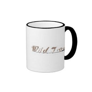 Trucha salvaje taza de café