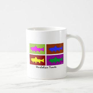 Truchas de Warholian Taza De Café