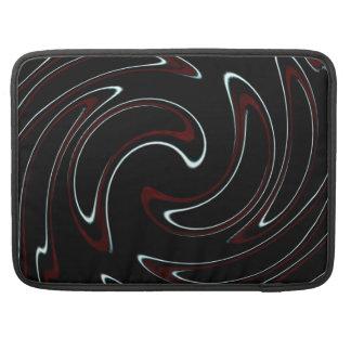 Truchet Neon Truchet Swirl MacBook Pro Sleeve