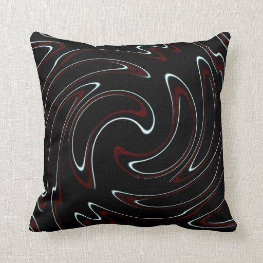 Truchet Swirl Pillows