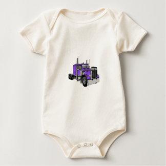 Truck 1 baby bodysuit
