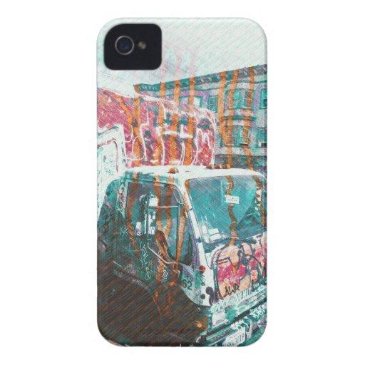 Truck-A-Licious Bang ( graffiti Love ) Case-Mate iPhone 4 Cases