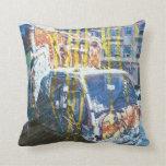 Truck-A-Licious Bang ( graffiti Love ) Throw Pillow
