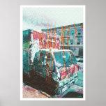 Truck-A-Licious Bang ( graffiti Love ) Poster
