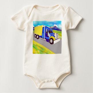 Truck Baby Bodysuits