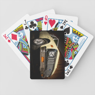 truck bicycle playing cards