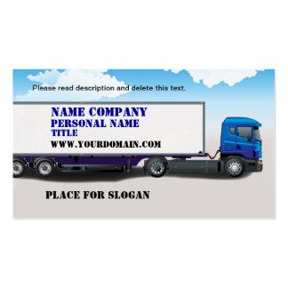 Truck Business Business Card