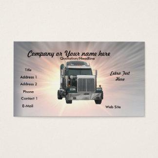 Truck Business Card