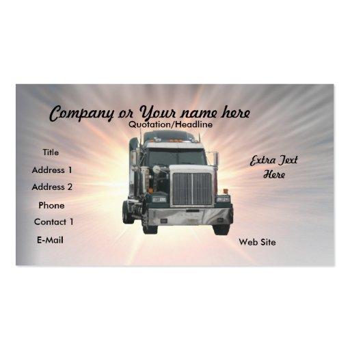 Truck Repair Business Card Templates Bizcardstudio