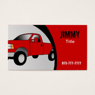 Truck Business Cards