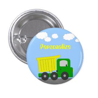 Truck Button Badge