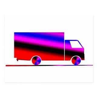 Truck - Camion Postcard