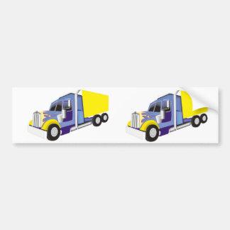 Truck Car Bumper Sticker