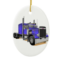Truck Ceramic Ornament