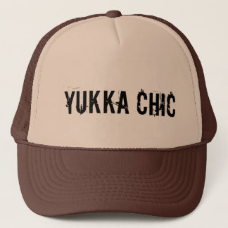truck course yukka trucker hat