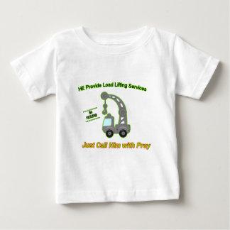 Truck Crane Baby T-Shirt