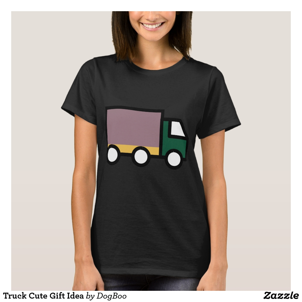 Truck Cute Gift Idea T-Shirt - Best Selling Long-Sleeve Street Fashion Shirt Designs